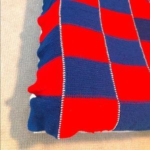 Afghan Handmade Vintage Crochet Blanket